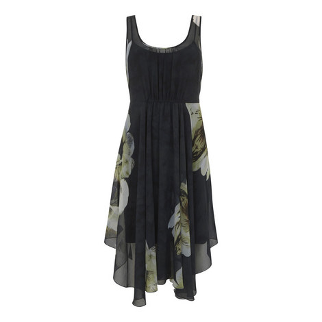 Laura Handkerchief Hem Dress, ${color}