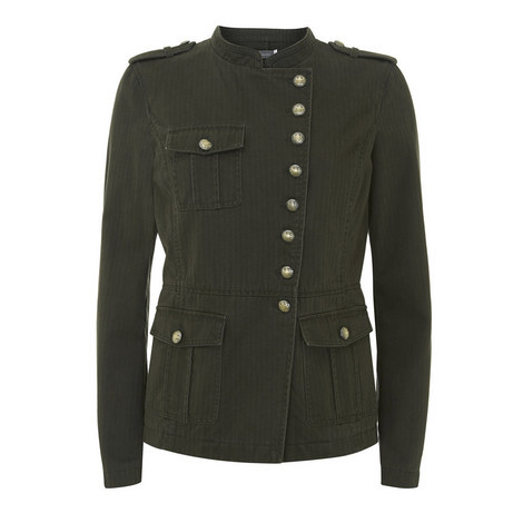 Washed Military Jacket, ${color}