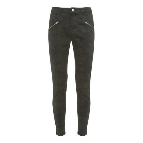Westwood Camouflage Biker Jeans, ${color}