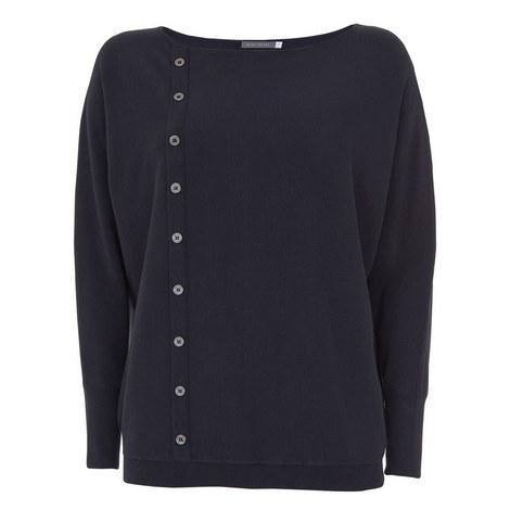 Vertical Button-Down Knit, ${color}