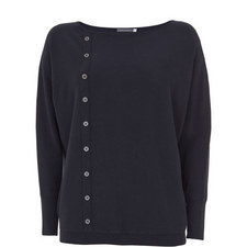 Vertical Button-Down Knit