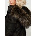 Camouflage Faux Fur Parka, ${color}