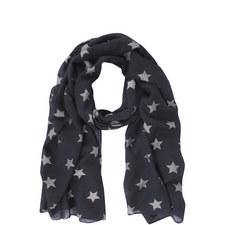 Linear Foil Star Scarf