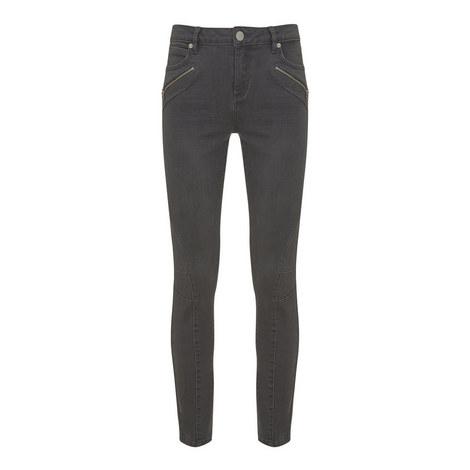 Darby Biker Skinny Jeans, ${color}