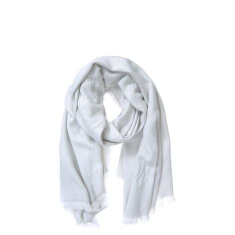 Herringbone Blanket Scarf, ${color}