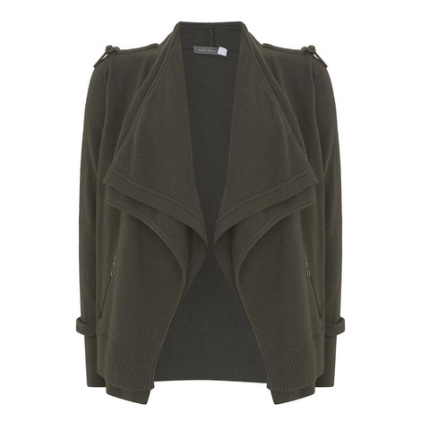 Military D-Ring Cardigan, ${color}