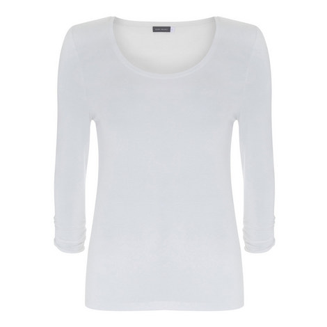 Scoop Neck Modal T-Shirt, ${color}