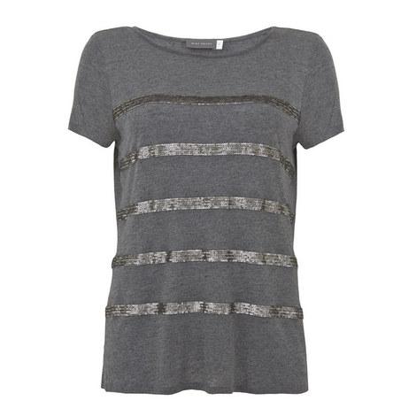 Sequin Stripe T-Shirt, ${color}