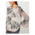 Whisper Print Blouse, ${color}