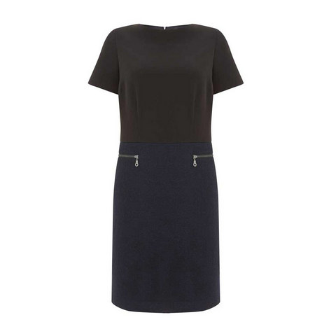 Two-Piece Shift Dress, ${color}