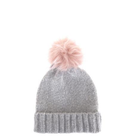 Pom Pom Beanie Hat, ${color}