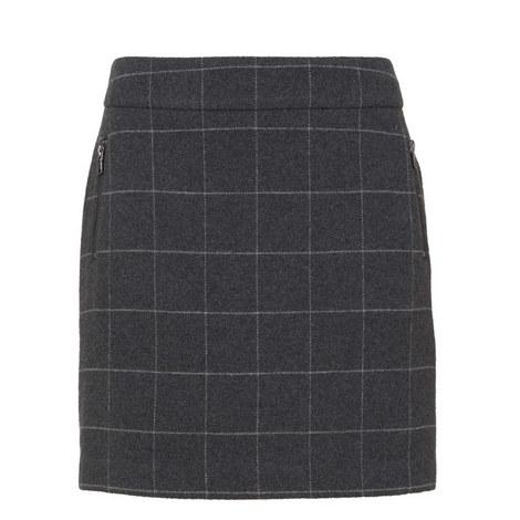Check Mini Skirt, ${color}