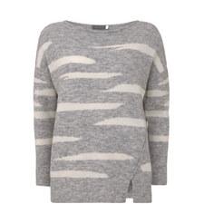 Irregular Stripe Sweater