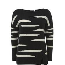 Irregular Stripe Knit