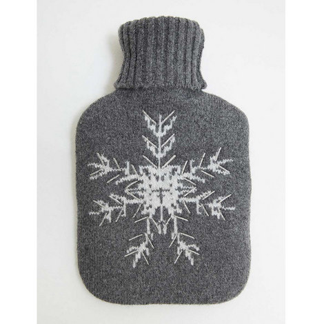 Snowflake Hot Water Bottle, ${color}