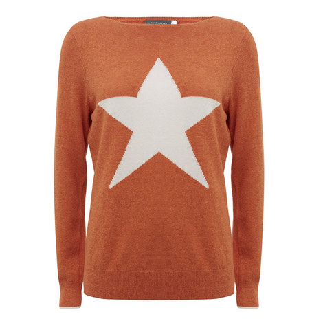 Starred Crew Neck Knit, ${color}