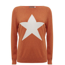 Starred Crew Neck Knit