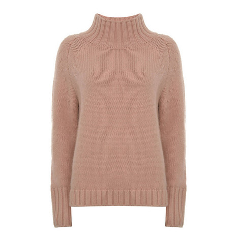 Funnel Neck Knit, ${color}