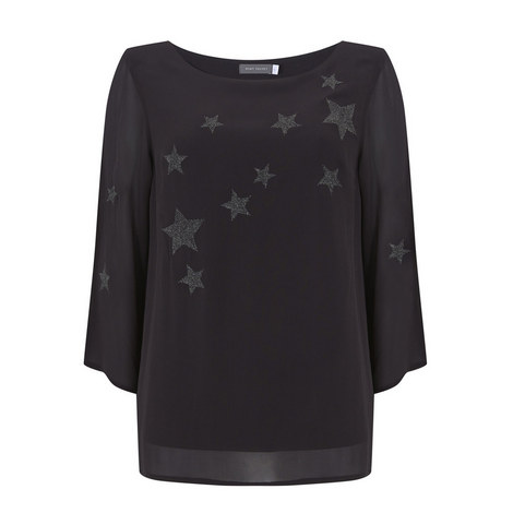 Star Embroidered Top, ${color}