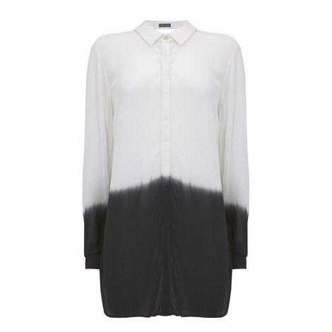 Ombre Longline Shirt, ${color}