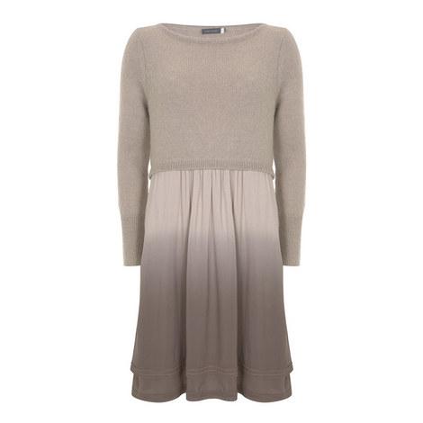 Double Layer Knit Dress, ${color}