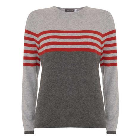 Striped Cotton Knit, ${color}