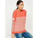 Watermelon Stripe & Heart Knit, ${color}