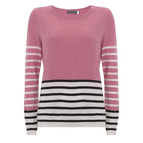 Mix Stripe Sweater, ${color}
