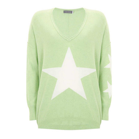 Lime Star Front Cocoon Knit, ${color}
