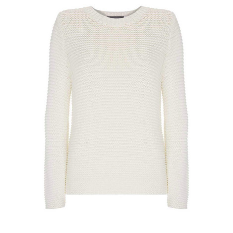 Ivory Chunky Stitch Knit, ${color}