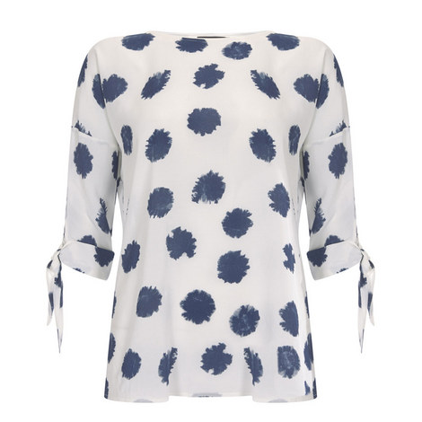 Inky Spot Blouse, ${color}