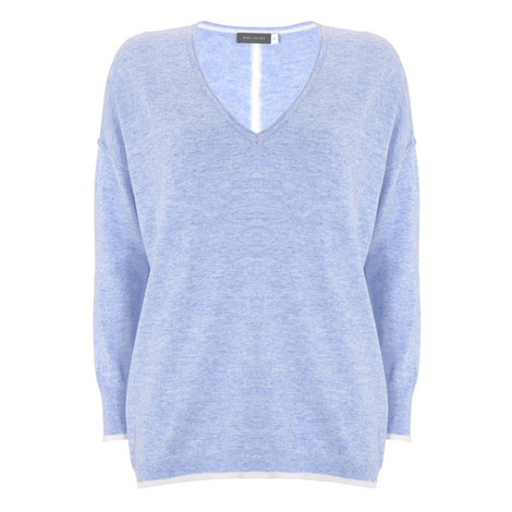 Tipped Cocoon Sweater, ${color}