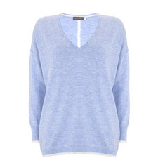 Tipped Cocoon Sweater