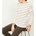 Metallic Stripe Insert Knit, ${color}