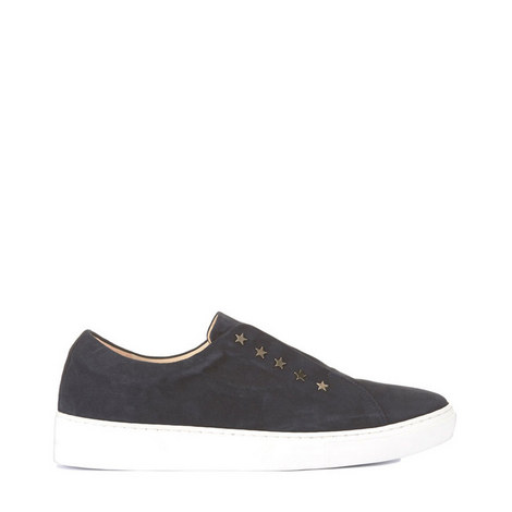 Lila Star Suede Trainers, ${color}