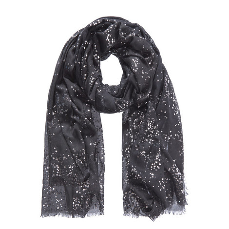 Claudia Foil Scarf, ${color}