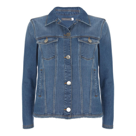 Western Denim Jacket, ${color}