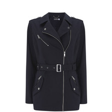 Navy Cotton Trench