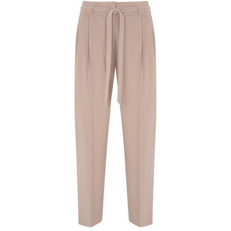 Blossom Belted Tapered Trouser, ${color}