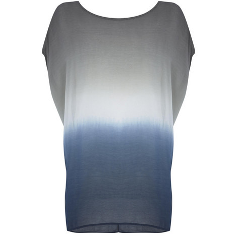 Azure Ombre Cocoon Tee, ${color}