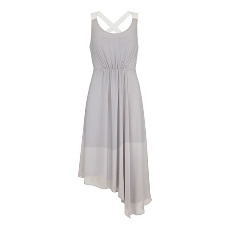 Asymmetric Trapeze Dress, ${color}