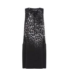 Ellen Print Cocoon Dress