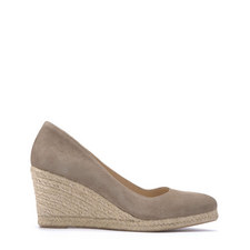 Grace Mink Pointed Wedge