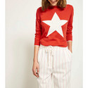 Star Round Neck Sweater, ${color}