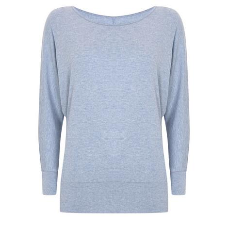 Marl Batwing T-Shirt, ${color}
