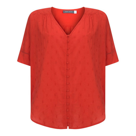 Dobby Batwing Top, ${color}
