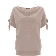 Blossom Tie Sleeve Batwing