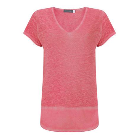 Overdyed Linen T-Shirt, ${color}