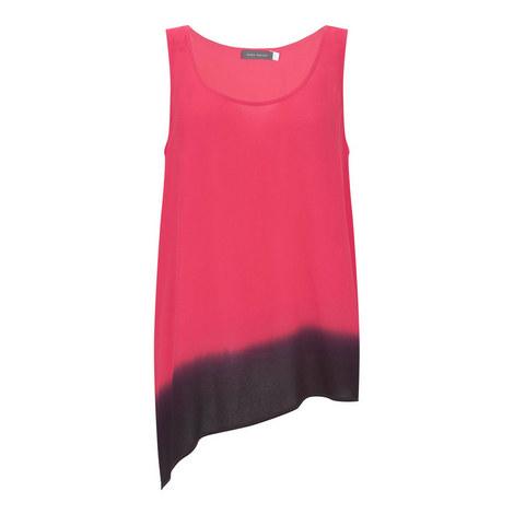 Ombré Asymmetric Vest, ${color}