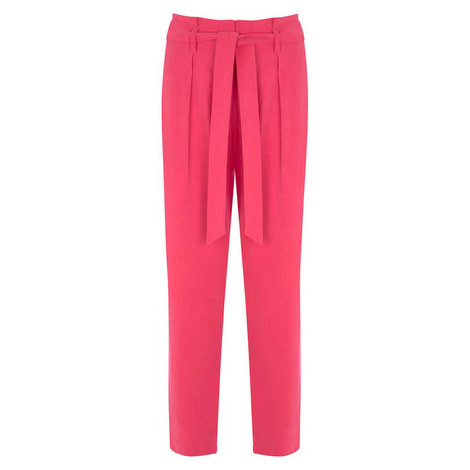 Fuchsia Paperbag Trouser, ${color}